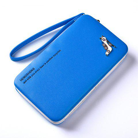 Hot Female Wallet Long Pencil Case Clutch Bag Student Lunch Box Creative Models Mobile Phone Package