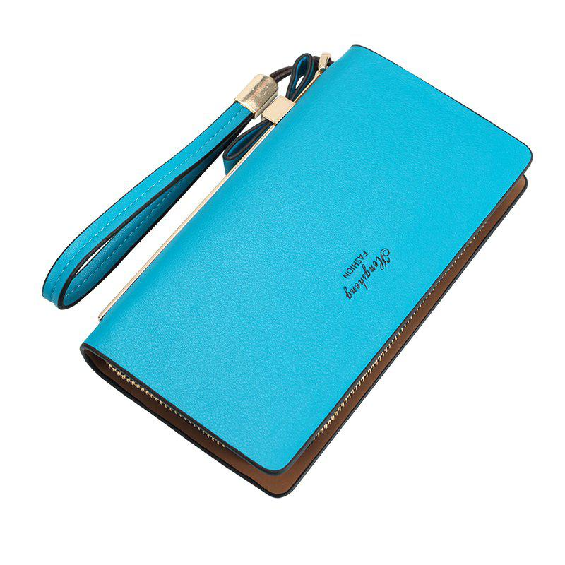 Online Women's Wallet New Clutch Bag Long Zipper Soft Leather Bow Folder Phone