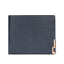 Local Tycoon Gentlemen Short Wallet Classic Business Soft-sided Leather Folder Cross-section -