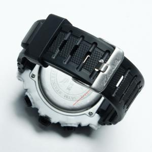 EPOZZ 2801 Men Sports Analog Digital Waterproof Watch -