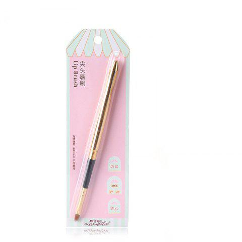 Trendy Cosmetic Multifunctional Retractable Lip Makeup Brush