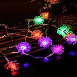 Colour pinecone modeling battery festival party indoor outdoor pinecone modeling battery festival party indoor outdoor decorative lights aloadofball Gallery