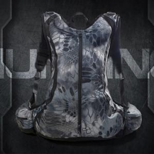 Outdoor Waterproof Riding Hiking Python Camouflage Multi-Functional Commando Tactical Backpack -