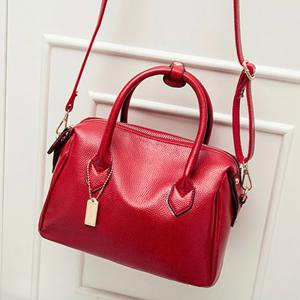 Women Fashion Handbags PU Leather Shoulder Messenger Tote Bags -