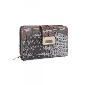 Women's Purse Crocodile Print Classical Style All Match Bag -