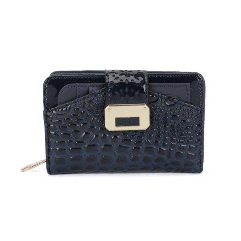 Trendy Women's Purse Crocodile Print Classical Style All Match Bag