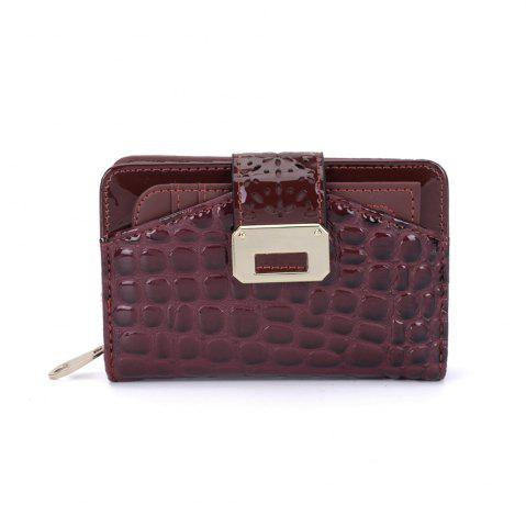 New Women's Purse Crocodile Print Classical Style All Match Bag
