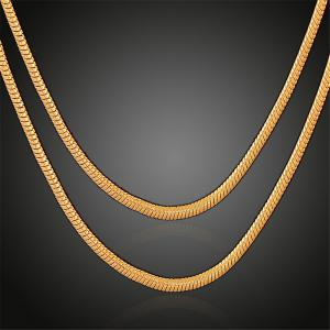 Gold Hiphop Gold Chains Necklace For Men Jewelry RoseGalcom