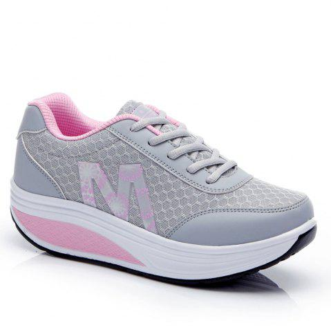 Fashion Sports Running Leisure Travel Thick Bottom Swing Shoes