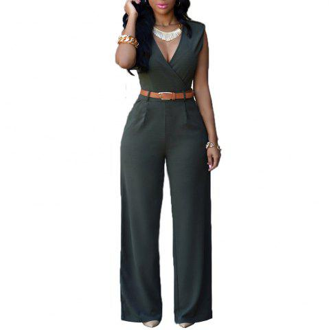 Cheap Fashion Loose Slim Casual Jumpsuit