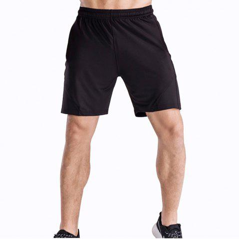 Cheap Men's Loose Fit Sweat-Absorbent Breathable Sports Shorts