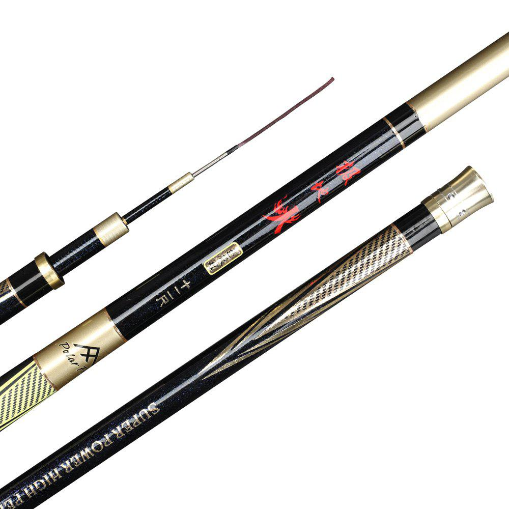 Sale Polarfire DYG301 Outdoor Fishing Gear Carbon Paint 3.6 Meters 4.5 Meters 5.4 Meters Telescopic 28 Fishing Rod