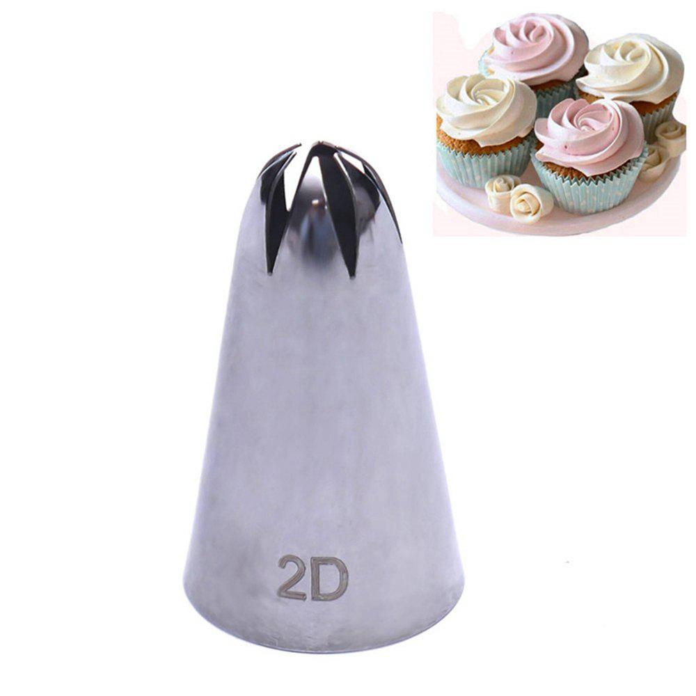 Shop 2D Rose Flower Cake Decorating Icing Tips Cupcake Nozzles