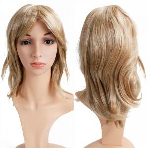 Women Long Wavy Curly Wave Full Hair Synthetic Wig for Cosplay Party Costume -