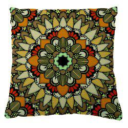 National  Pattern  Decoration Pillowcase Car Seat Cushion Cover -