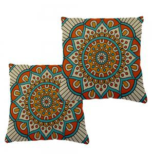 Traditional Pattern of Retro Shading Moire Household Car Seat Cushion Cover -