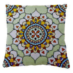 Traditional Pattern of Folk Style Romantic Stamp Shading Car Sofa Cushion Cover Hold Pillowcase -