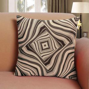 Effect of Stereo Vision Geometric Lines Pillowcase Sofa Cushion Cover Balcony -
