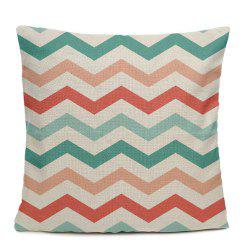 Color Stripe Simple Geometric Patterns Home Decoration Pillowcase Sofa Cushion Bedroom -