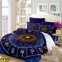 Star Palace Compass Series Three or Four Pieces Bedding Set AS21 -