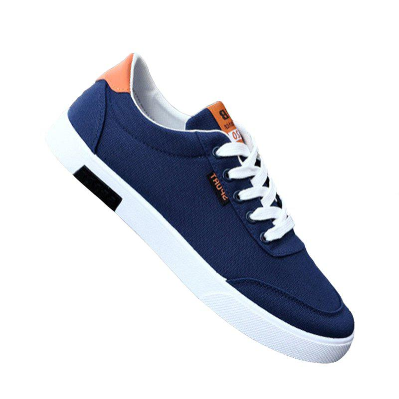 Online Men Fashion All-Match Low-Top Shoes