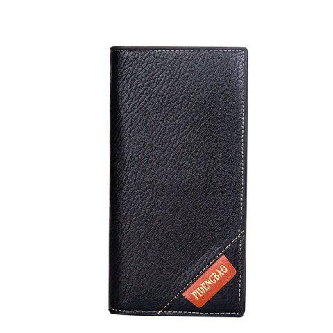 Buy New Men's Long Wallet Fashion Casual Card Package