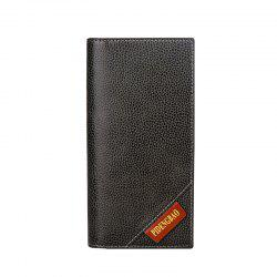 New Men's Long Wallet Fashion Casual Card Package -
