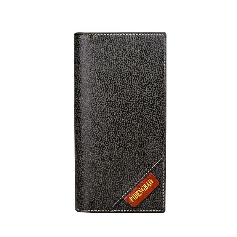 Store New Men's Long Wallet Fashion Casual Card Package