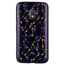 Case For Moto G4 Play Colorful Arrow  Design Soft TPU Phone Protection Shell -
