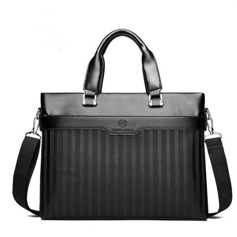 Shop Laptop Shoulder Messenger Handbag Business Men's Cross-section Briefcase