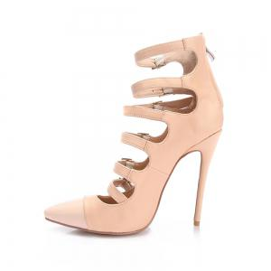 2018 New Style Naked Hollowed Out High Heeled Single Shoes -