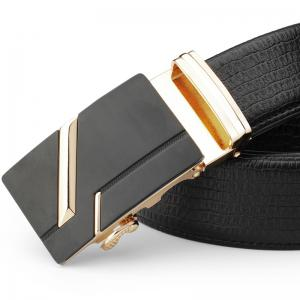 Men's Fashion  Leather Belt Business Trend -