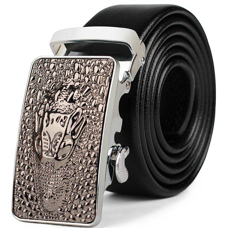 Chic Men's Business Casual Wear Leather Belt