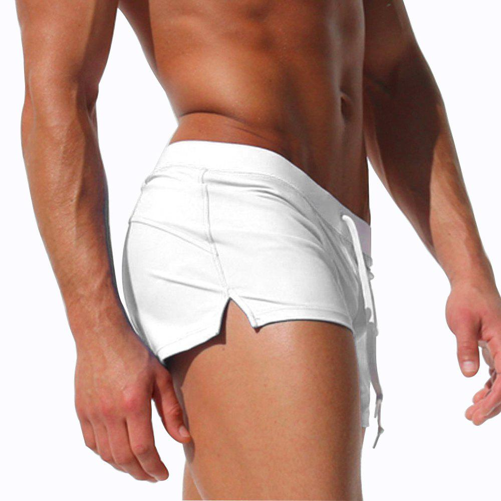 Affordable Men's Briefs Swimming Pants Breathable Quick-Drying Beach Shorts
