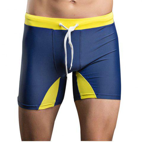 Hot Men's Professional Tethered Swimming Trunks Beach Shorts