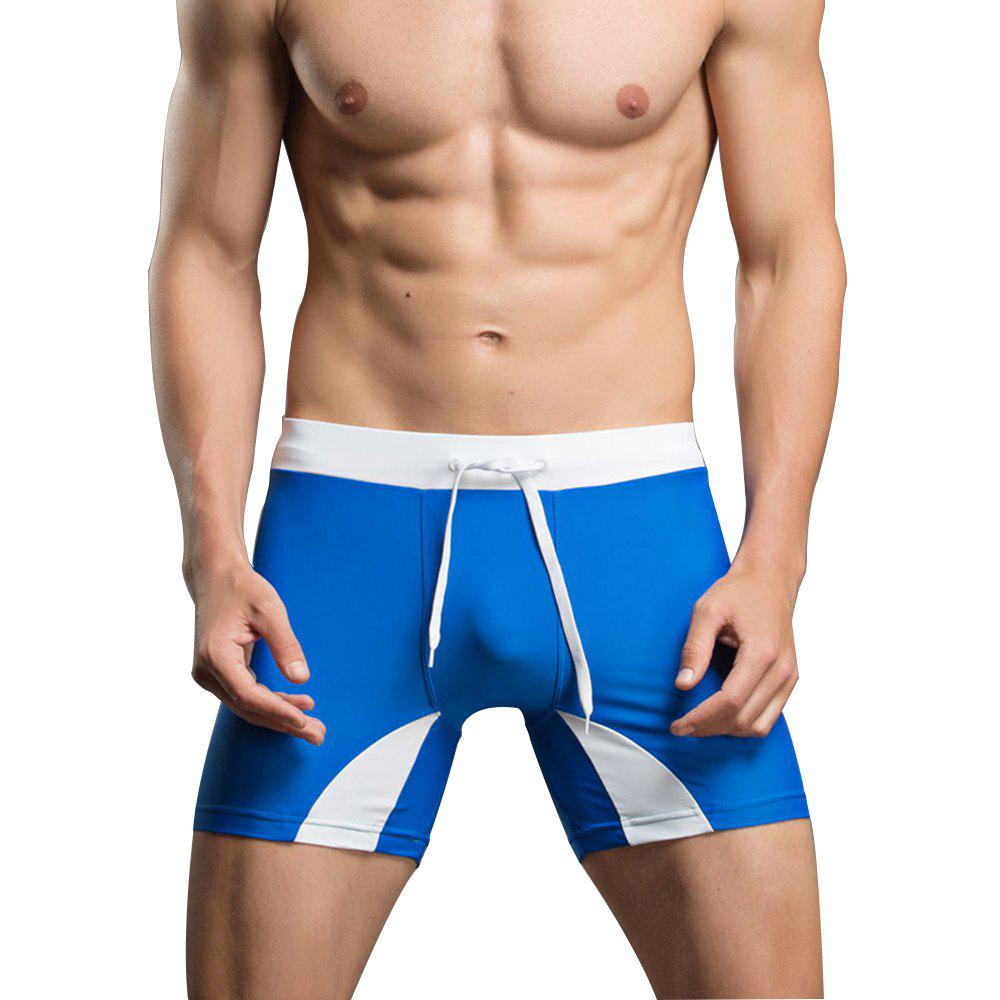 Shops Men's Professional Tethered Swimming Trunks Beach Shorts