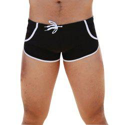 Men's Quarter Trunks Beach Swim Shorts -