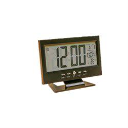 Acoustique Sensing Background Lumière Calendrier Horloge Temperature Meter -