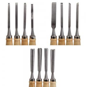 Wood Carving Knife Chisel Set 12 Pcs Sharp Woodworking Tools with Carrying Case Great for Beginners -