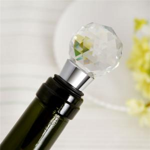 Wine Stopper Crystal Ball Red Wine Collection Stoppers Party Bar Tools -