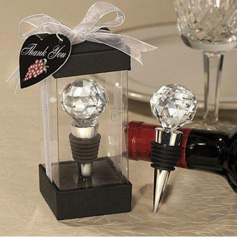 Outfit Wine Stopper Crystal Ball Red Wine Collection Stoppers Party Bar Tools