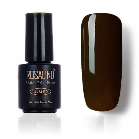 Chic ROSALIND New Coffee Color Series of Oil Gum Environmental Protection Nail Polish