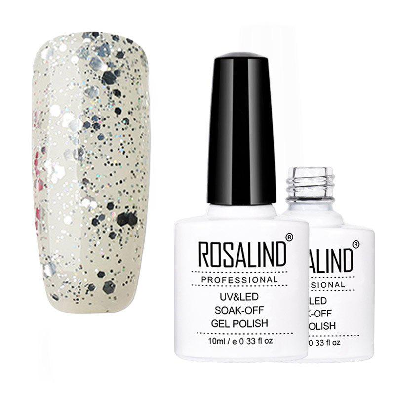 Store ROSALIND Gelish Series of New Self Selected Color Nail Oil Glue 10ML