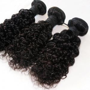 Jerry Curly  Brazilian Human Virgin Hair Weave 4pcs -