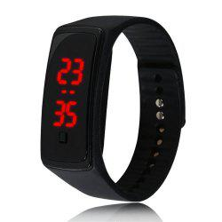 V5 Fashion LED Digital Watch Children Silicone Wristwatch -