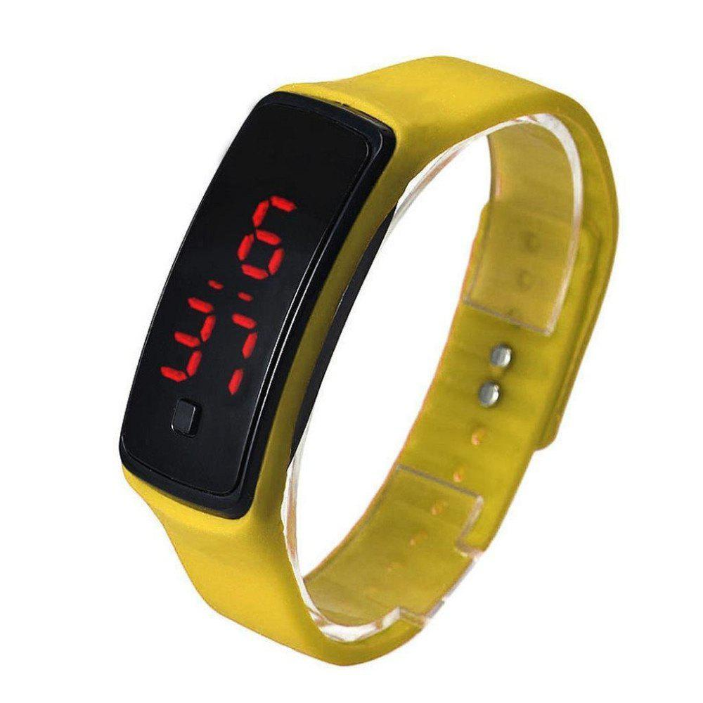 Sale V5 Fashion LED Digital Watch Children Silicone Wristwatch