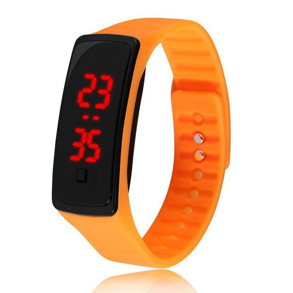 Affordable V5 Fashion LED Digital Watch Children Silicone Wristwatch