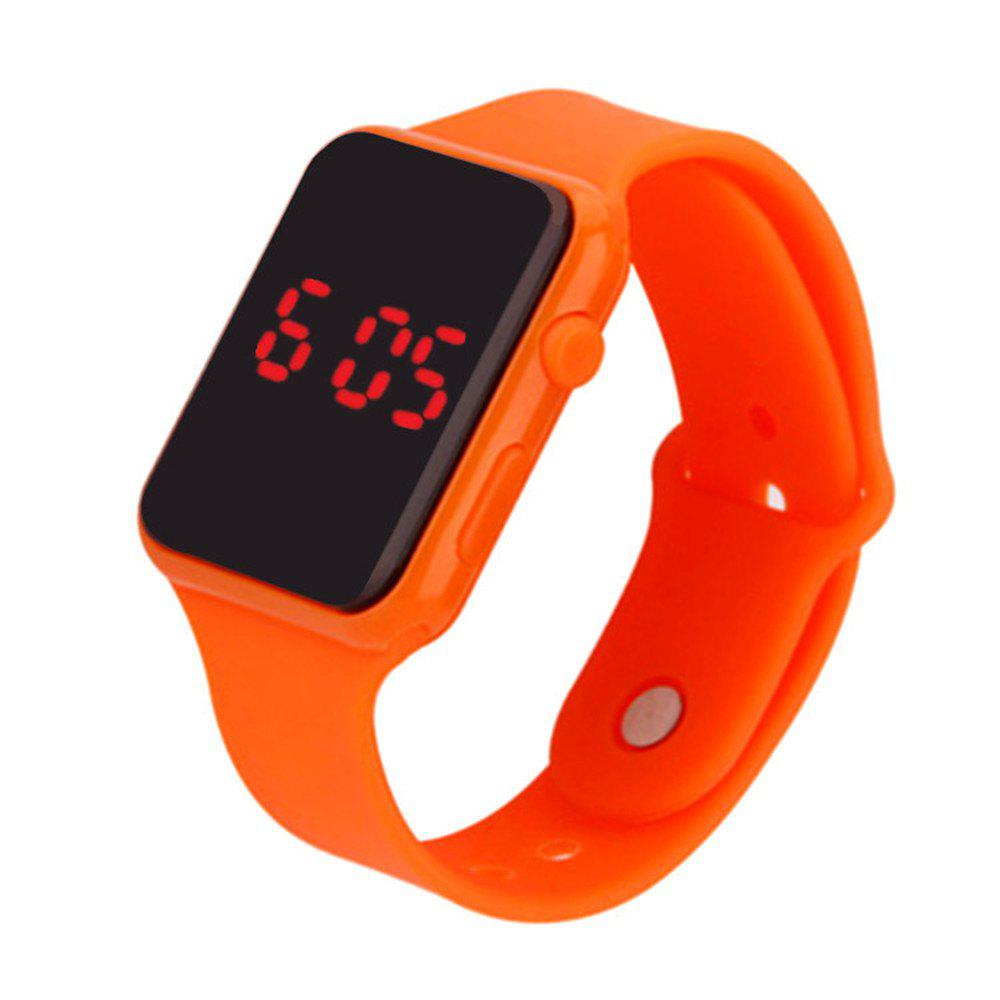 Hot V5 Brand Unisex Rubber LED Date Sports Bracelet Digital Wrist Watch