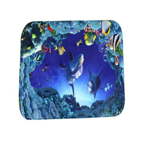 Outfits Undersea Bath Mat Rug Super Soft Non-Slip Machine Washable Quickly Drying Antibacterial for Kitchen