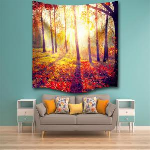 Morning Woods 3D Digital Printing Home Wall Hanging Nature Art Fabric Tapestry for Bedroom Living Room Decorations -